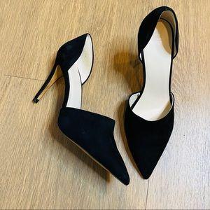 Zara Suede Pointy Toe Dress Shoes Size 40